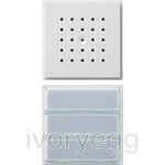 Door Loudspeaker with 2/3 Call Buttons TX44 Pure White