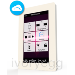 "VERSO 4.3"" KNX Touch panel with IP connectivity, White"