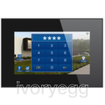 "7.1"" Touch screen - Integrated Web server - Black"