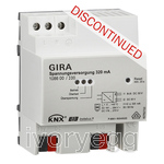 320mA KNX Power Supply with additional auxiliary 24VDC output
