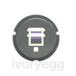 free@home Button - blind symbol - Grey