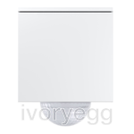Gira Cube KNX - 240 degrees - Glossy White
