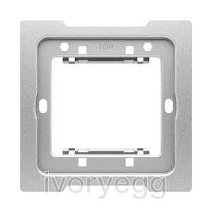 Special mounting plate for KNX sensors 1 gang