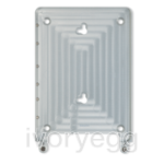 "Eve frame for iPad Air 1 & 2, and iPad 9.7"" - aluminium"