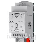 KCI. KNX Interface for 4 consumption meters with S0-pulse outputs
