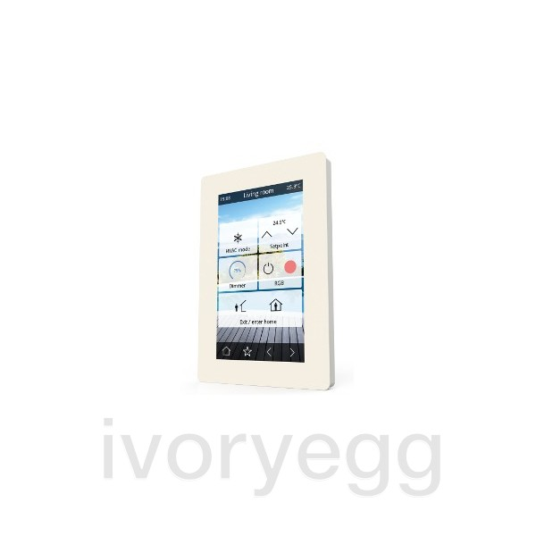 verso 4 3 touch panel white ivory egg. Black Bedroom Furniture Sets. Home Design Ideas