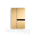 Fibonacci Dual KNX, brushed brass