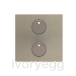free@home Cover Plate for 1-gang sensors, champagne