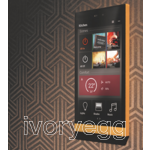 Ellie touch panel - brass