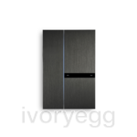 Fibonacci Dual KNX, brushed dark grey