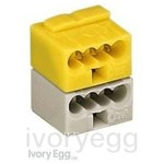 Connector for KNX applications Yellow/White (Box of 50)