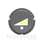 free@home Button - dimmer symbol - Grey