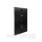 Aalto D3N Active network speaker 200W, in-wall version - brushed aluminium
