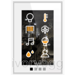 "SmartTouch-K Basic - 4.3"" Vertical touch screen - Integrated WiFi - White"